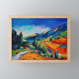 This way to Heaven Framed Mini Art Print