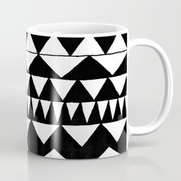 Black Triangles Coffee Mug