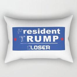 resident rump Rectangular Pillow