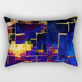 ALL BOXED IN Rectangular Pillow