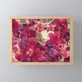 Azaleas Framed Mini Art Print