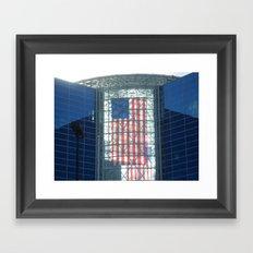 The Flag Framed Art Print