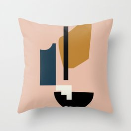 Shape study #2 - Lola Collection Throw Pillow