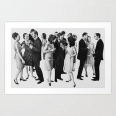 the cold war Art Print