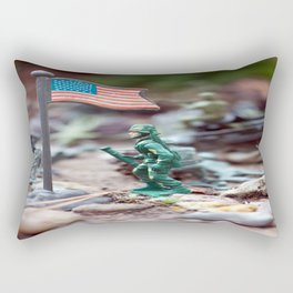 Army Man Rectangular Pillow