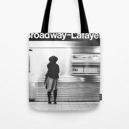 New York MTA Subway Tote Bag
