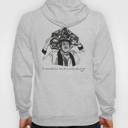 Back to the Future Drawing Hoody