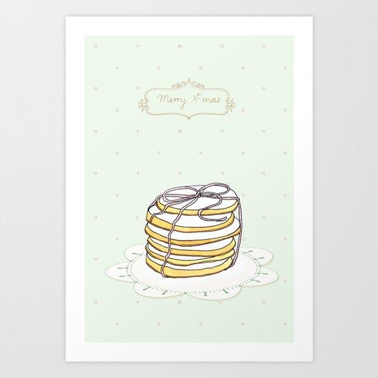 x-mas cookies Art Print