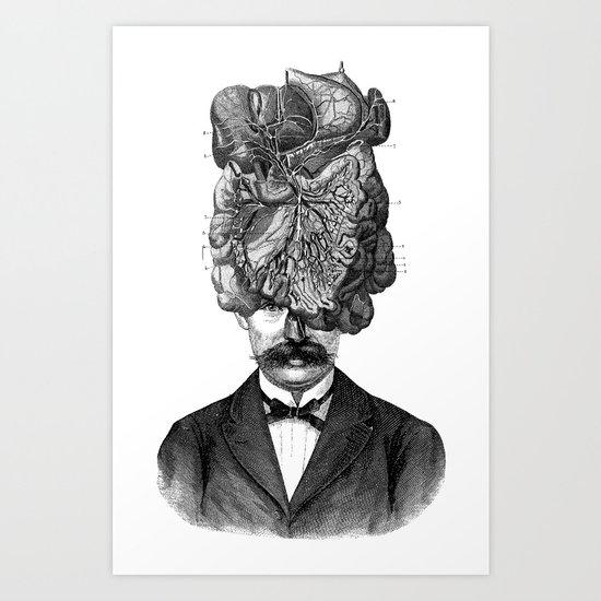 Mastermind Art Print