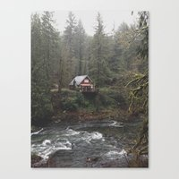 River House Canvas Print