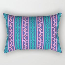 Seamless pink / The R Pattern 2 / 90s retro Rectangular Pillow