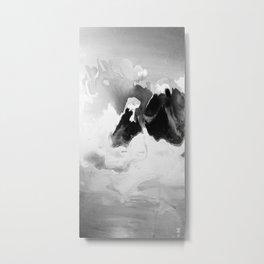 Ah Create and Destroy in Shadow Metal Print