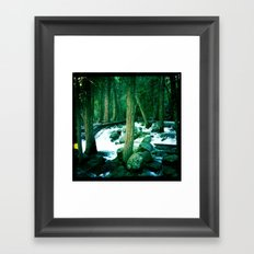 Yosemite Trees Framed Art Print