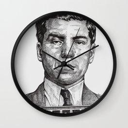 Lucky Crime Boss Wall Clock
