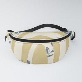 Leafs Surround Fanny Pack