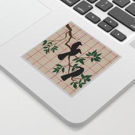 A murder Sticker