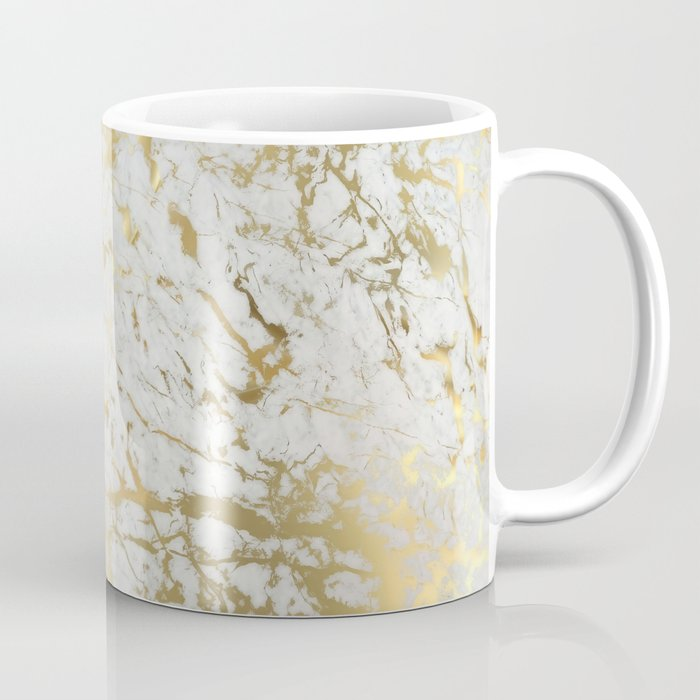 Gold marble Coffee Mug