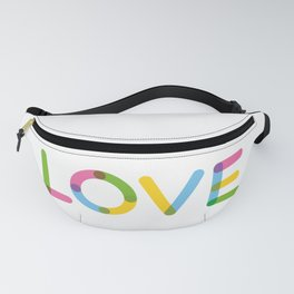 LOVE – Multicolor Fanny Pack