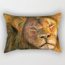Cecil the Lion Rectangular Pillow