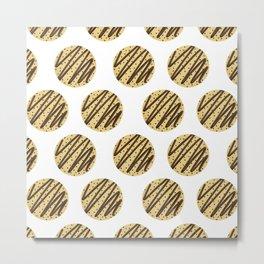 Chocolate Chip Cookies Metal Print