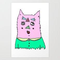 gato magico Art Print