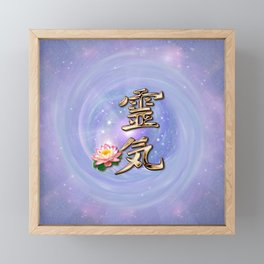 ReiKi Framed Mini Art Print