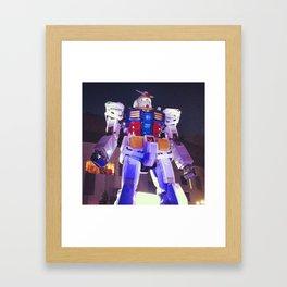 Gundam Robot Tokyo Framed Art Print