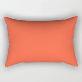 359 ~ Neon Orange Rectangular Pillow