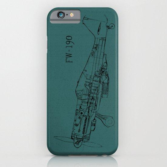 FW - 190 (Colour) iPhone & iPod Case