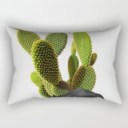 Cactus Woman 1 Rectangular Pillow
