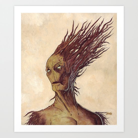The Woodman Art Print