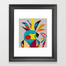 Cockatoooo Framed Art Print