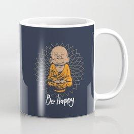 Be Happy Little Buddha Coffee Mug