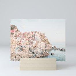 Positano, Italy Amalfi Coast Romantic Photography Mini Art Print