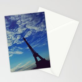 Cloudy sunrise in Paris - Fine Arts Travel Photography Stationery Cards