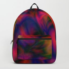 MULTICOLORED TEXTURE DESIGN Backpack