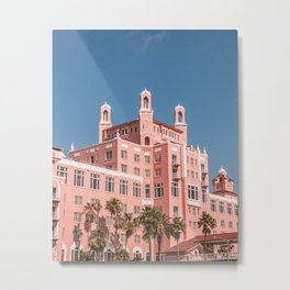 The Pink Hotel -- St. Pete Beach, FL Metal Print