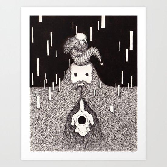 Beacons Beckon Art Print