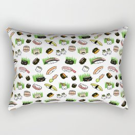 Sushi Friends Rectangular Pillow