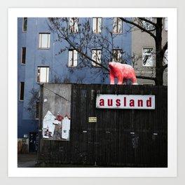 Berlin scape Art Print