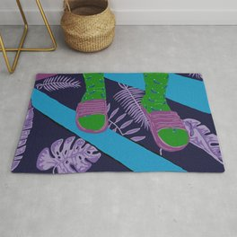 Summer-Socks & Style Inverted 3rd Edition Rug
