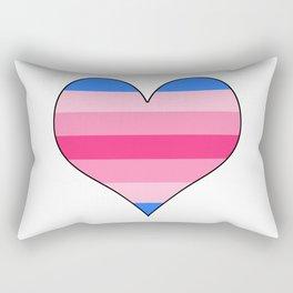 Trans Woman Heart Rectangular Pillow