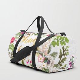 Thug Life - white version Duffle Bag