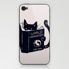 World Domination For Cats iPhone & iPod Skin