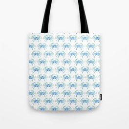 Ocean Blue Crab Tote Bag