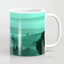 My road, my way. Turquoise. Coffee Mug