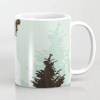 norway Mugs featuring norway  by jefdesigns