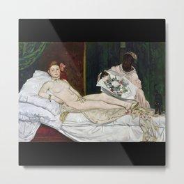 "Edouard Manet, ""Olympia"" Metal Print"