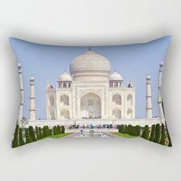 The Taj Mahal India Rectangular Pillow