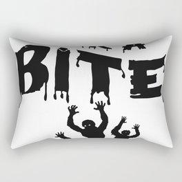 Zombie Halloween Rectangular Pillow